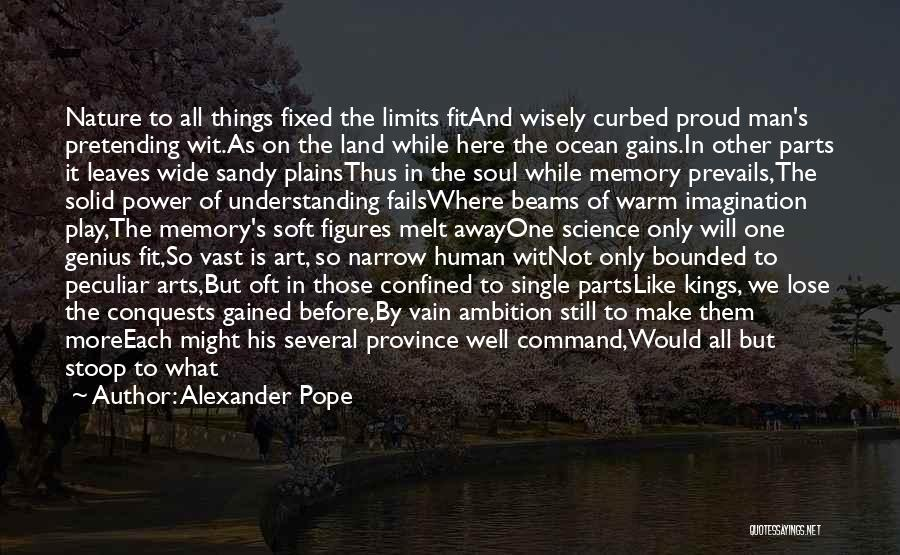 Beams Quotes By Alexander Pope