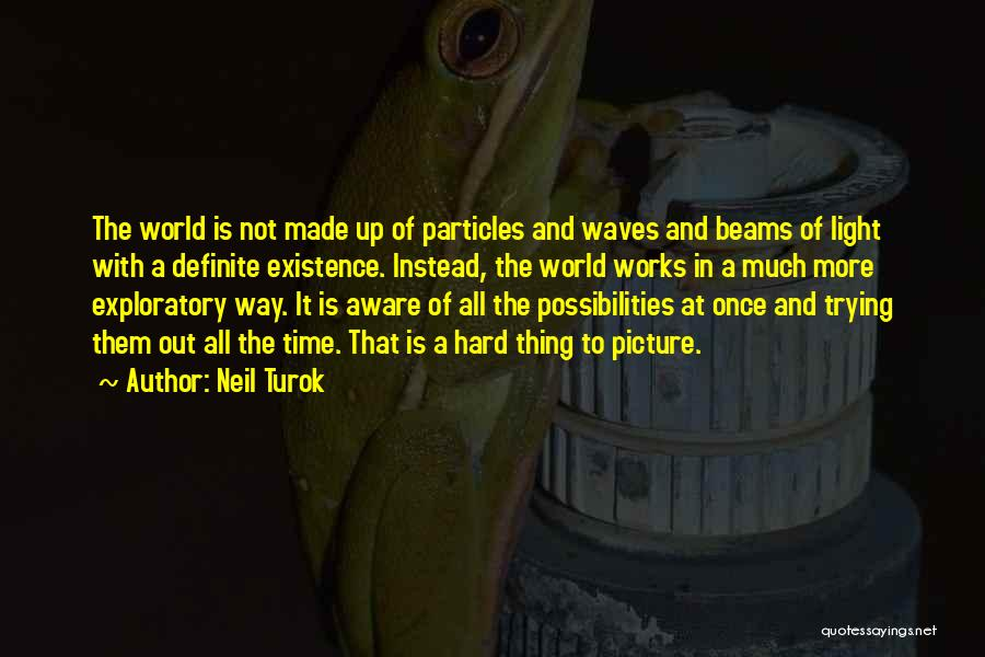 Beams Quotes By Neil Turok
