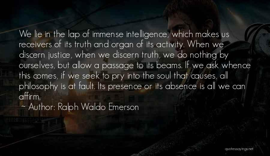 Beams Quotes By Ralph Waldo Emerson