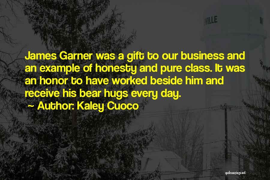 Bear Hugs Quotes By Kaley Cuoco
