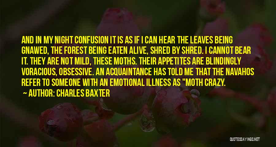 Bear Quotes By Charles Baxter