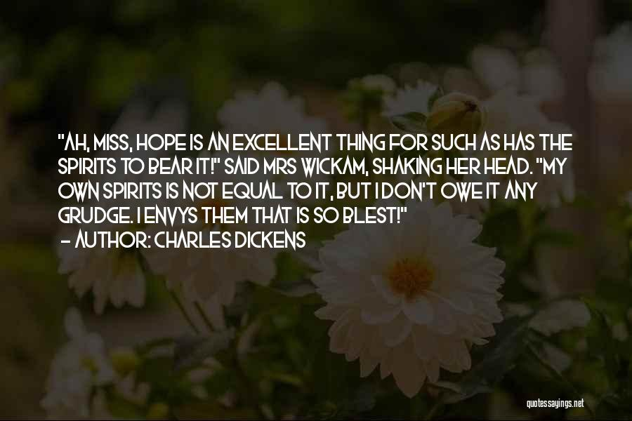Bear Quotes By Charles Dickens