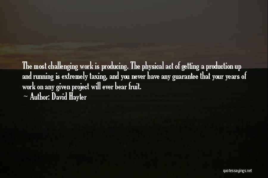 Bear Quotes By David Hayter