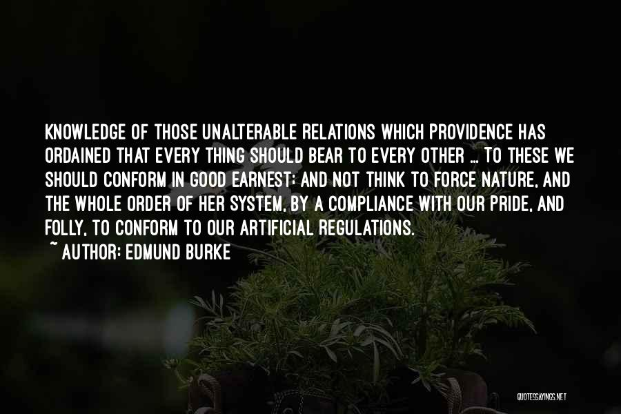 Bear Quotes By Edmund Burke