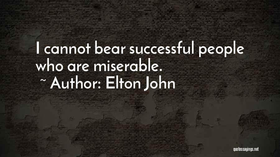 Bear Quotes By Elton John