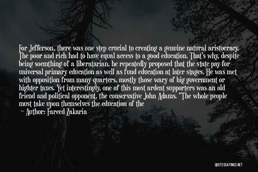 Bear Quotes By Fareed Zakaria