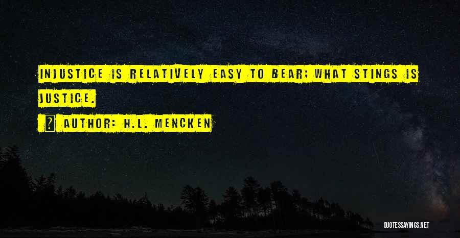 Bear Quotes By H.L. Mencken