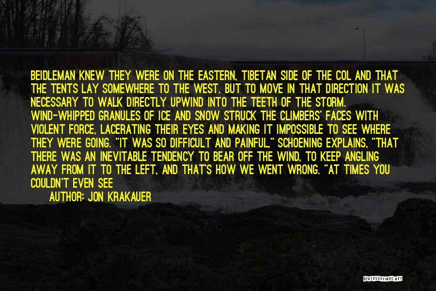 Bear Quotes By Jon Krakauer