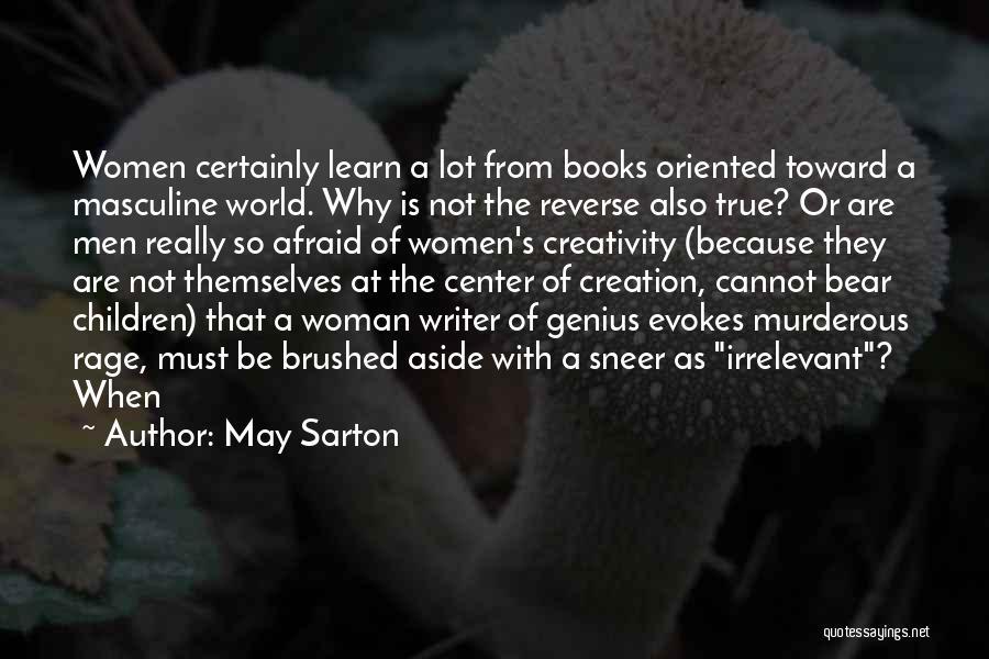 Bear Quotes By May Sarton