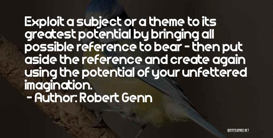 Bear Quotes By Robert Genn