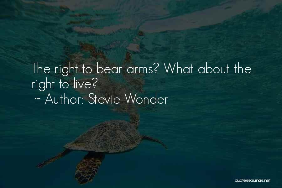 Bear Quotes By Stevie Wonder