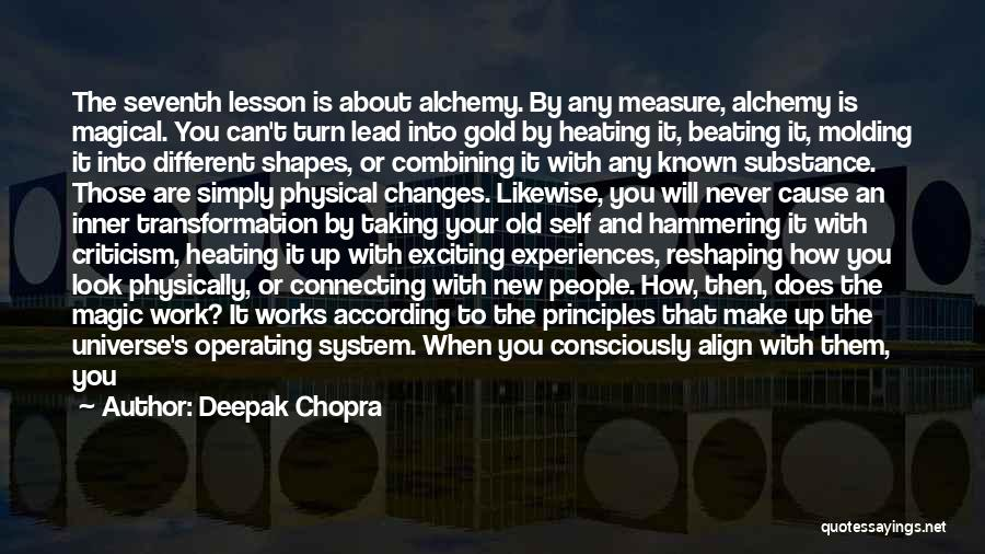Beating The System Quotes By Deepak Chopra