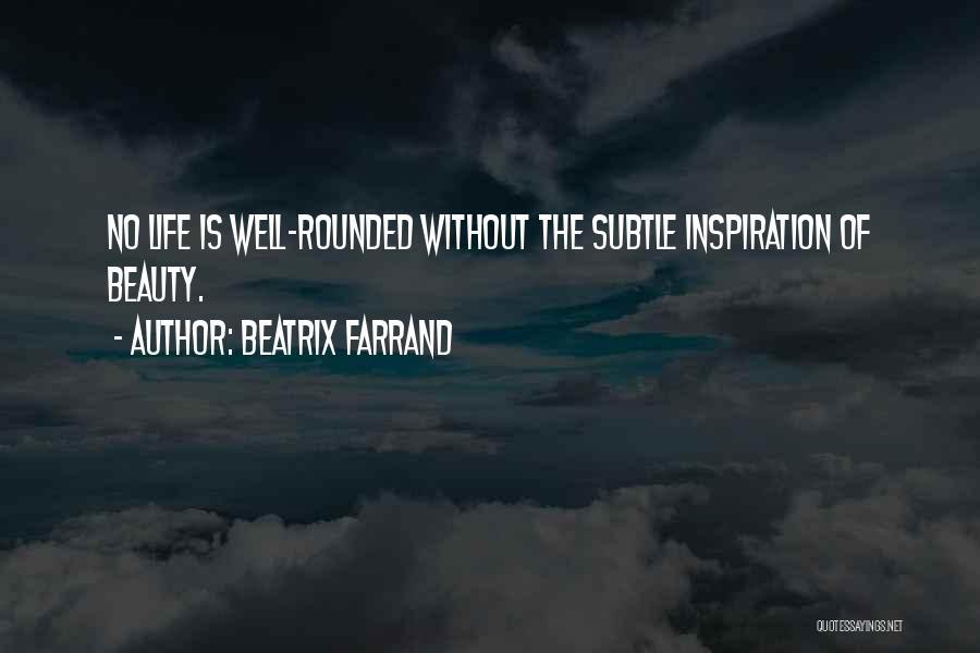 Beatrix Farrand Quotes 366275