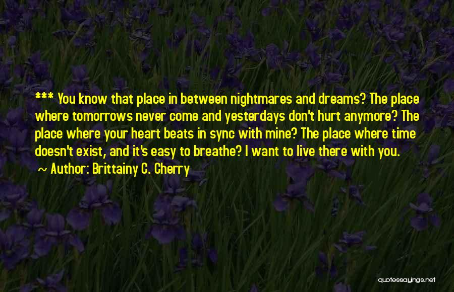 Beats Quotes By Brittainy C. Cherry