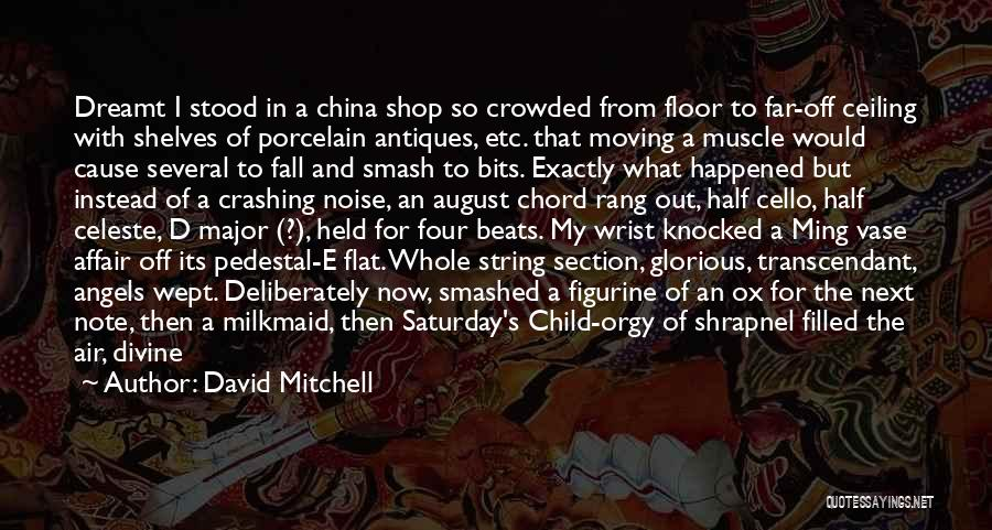 Beats Quotes By David Mitchell