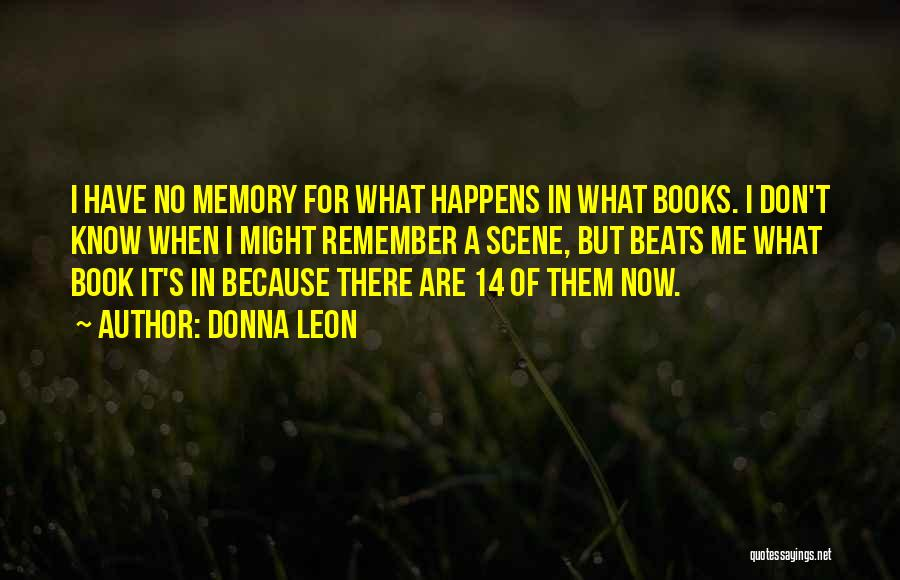 Beats Quotes By Donna Leon