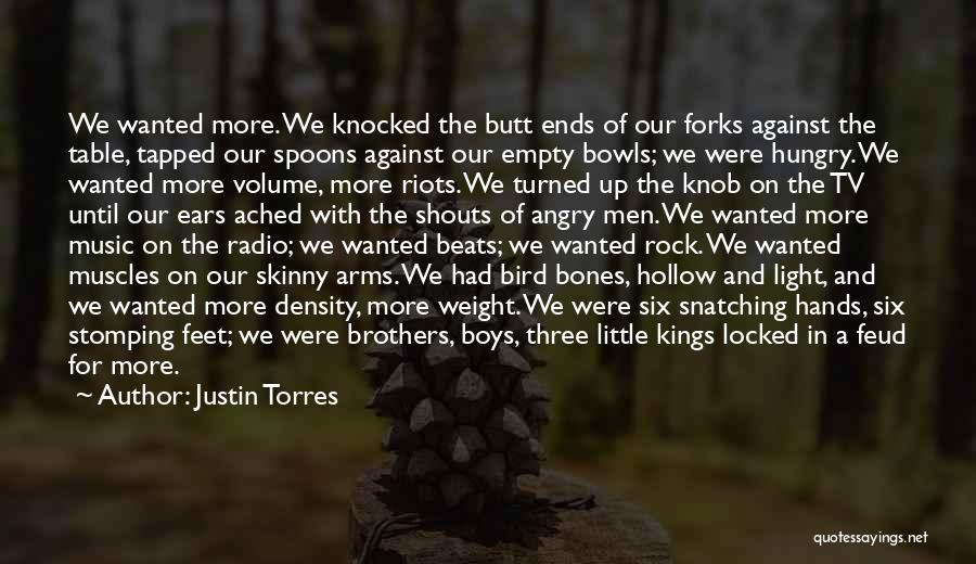 Beats Quotes By Justin Torres