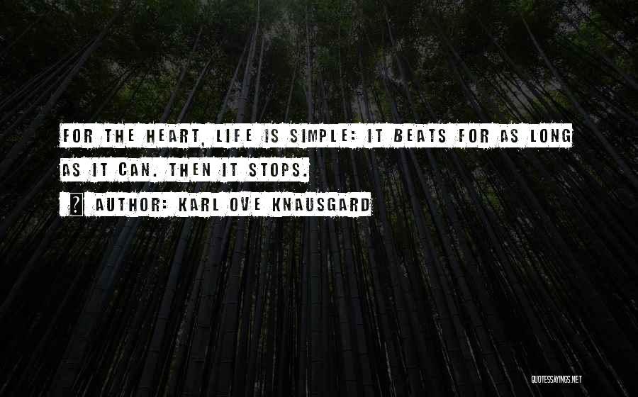 Beats Quotes By Karl Ove Knausgard