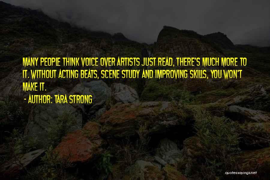Beats Quotes By Tara Strong
