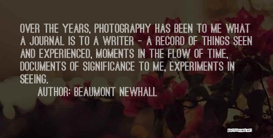 Beaumont Newhall Quotes 1224285