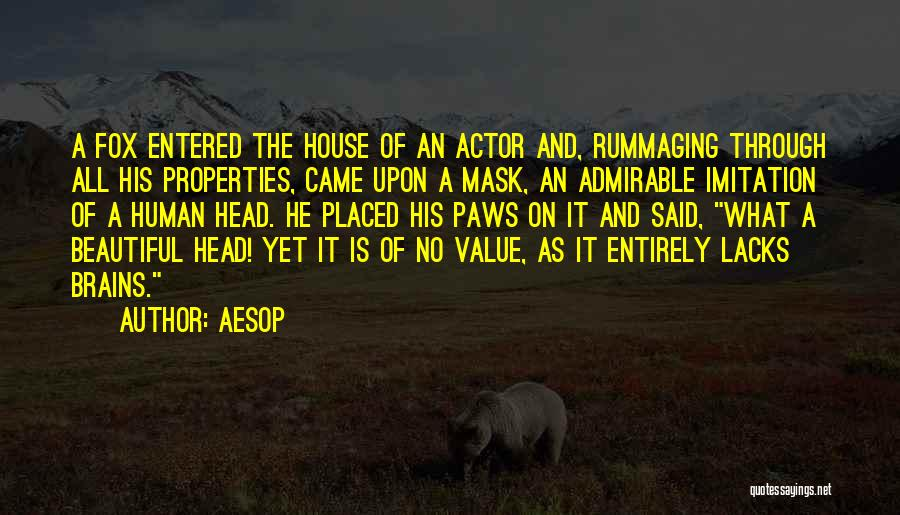 Beautiful Admirable Quotes By Aesop