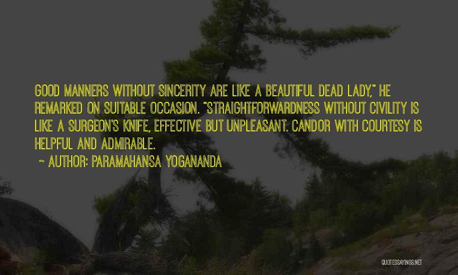 Beautiful Admirable Quotes By Paramahansa Yogananda