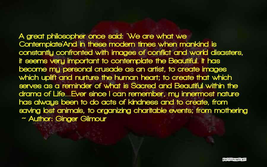Beautiful Birth Quotes By Ginger Gilmour
