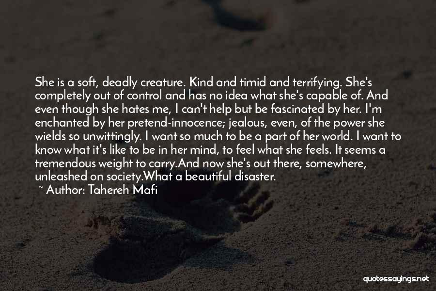 Beautiful Deadly Quotes By Tahereh Mafi
