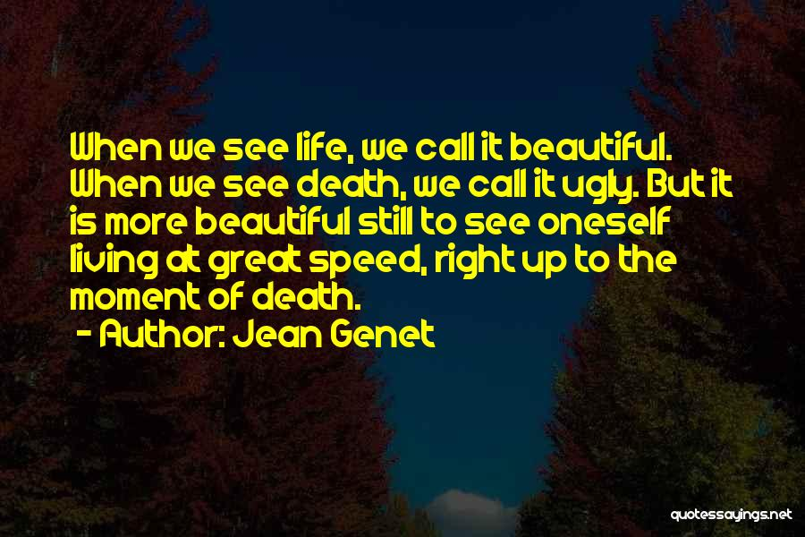 Beautiful Life Quotes By Jean Genet
