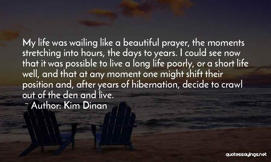 Beautiful Life Quotes By Kim Dinan