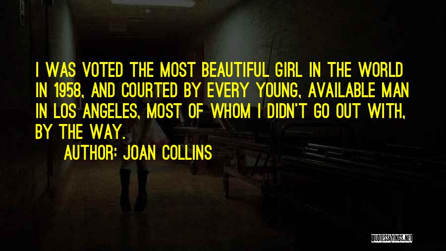 Beautiful Los Angeles Quotes By Joan Collins