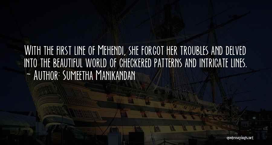 Beautiful Love Lines Quotes By Sumeetha Manikandan