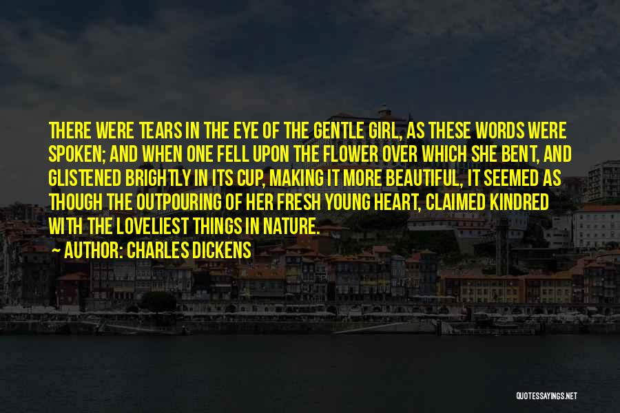 Beautiful Nature Girl Quotes By Charles Dickens