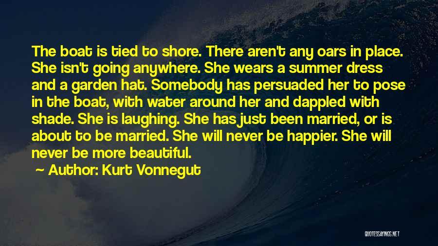 Beautiful Pose Quotes By Kurt Vonnegut