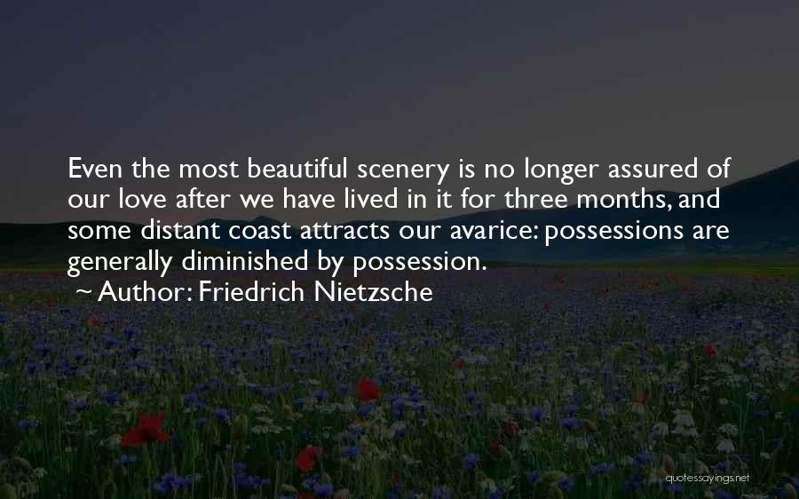 Beautiful Scenery And Quotes By Friedrich Nietzsche