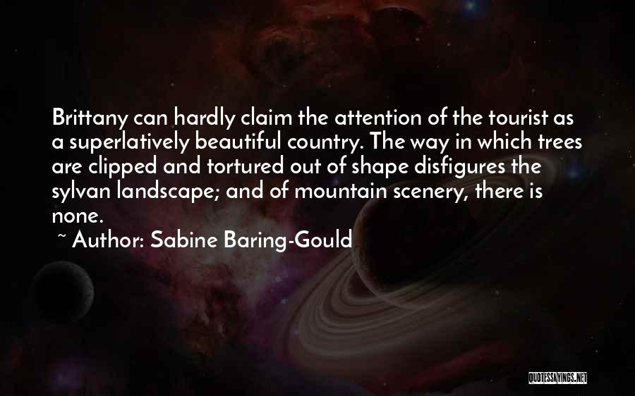 Beautiful Scenery And Quotes By Sabine Baring-Gould