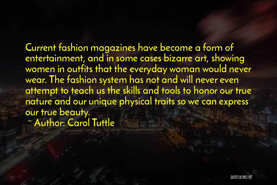 Beauty And Woman Quotes By Carol Tuttle
