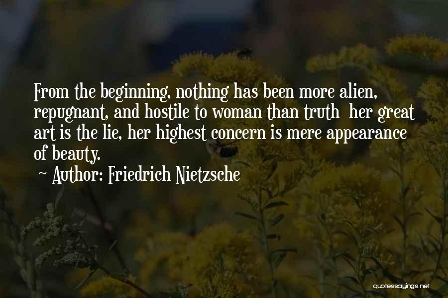 Beauty And Woman Quotes By Friedrich Nietzsche