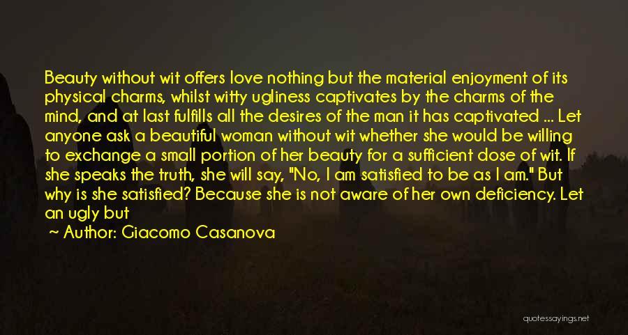 Beauty And Woman Quotes By Giacomo Casanova