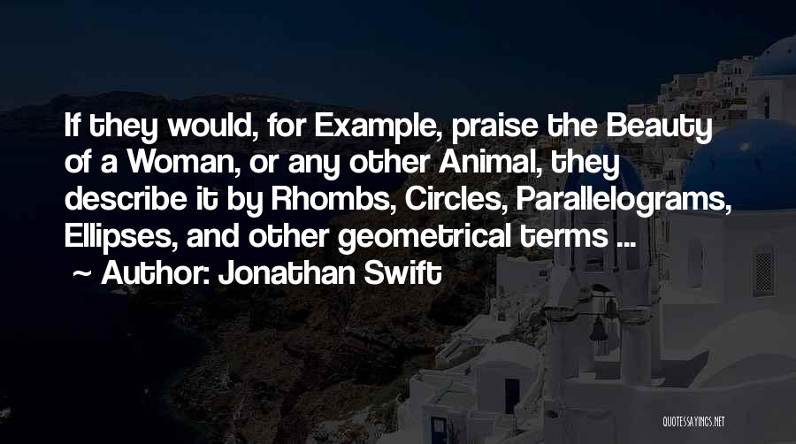 Beauty And Woman Quotes By Jonathan Swift