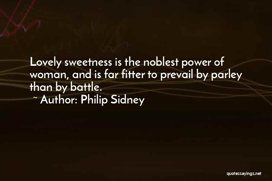 Beauty And Woman Quotes By Philip Sidney