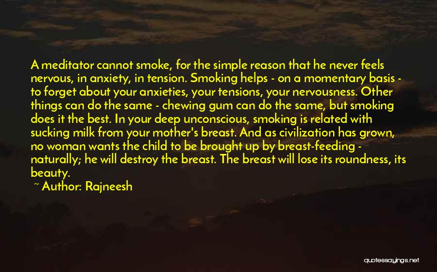 Beauty And Woman Quotes By Rajneesh