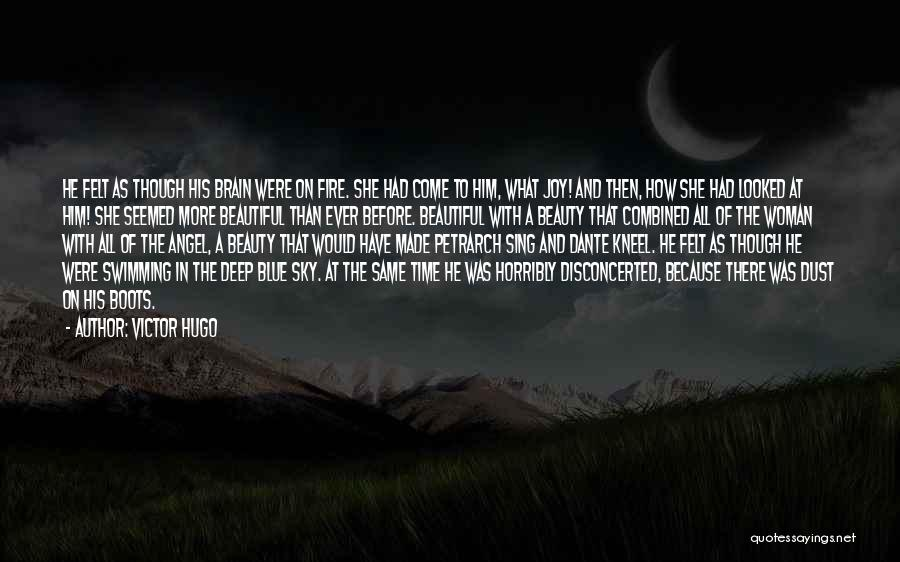 Beauty And Woman Quotes By Victor Hugo