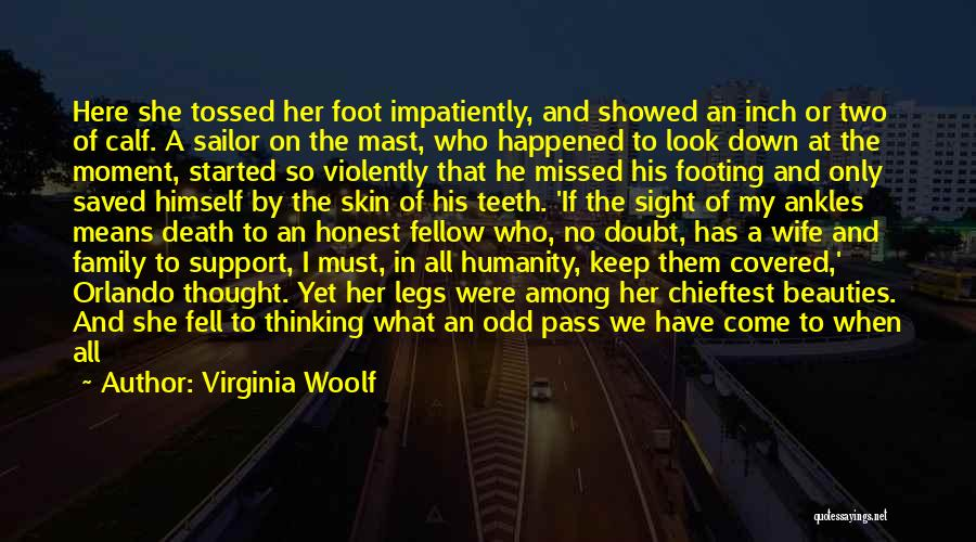 Beauty And Woman Quotes By Virginia Woolf