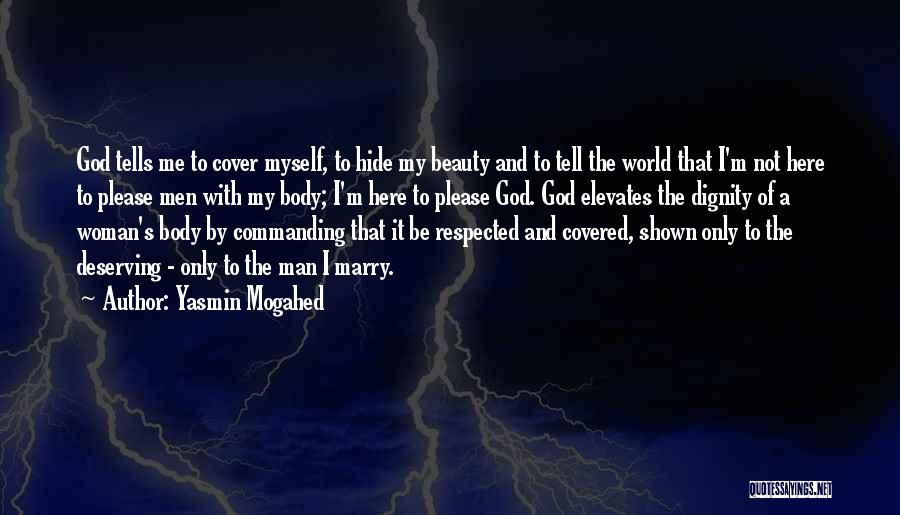 Beauty And Woman Quotes By Yasmin Mogahed