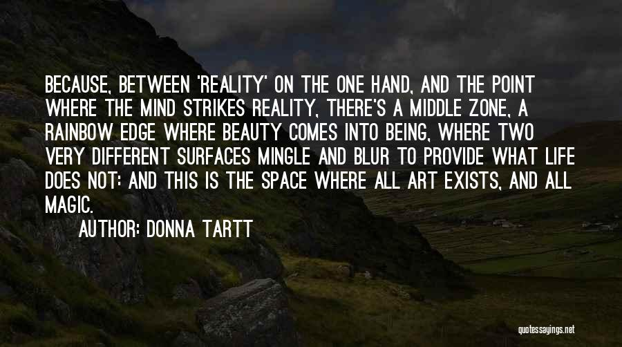 Beauty Blur Quotes By Donna Tartt