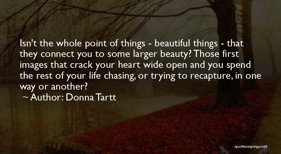 Beauty In The Heart Quotes By Donna Tartt