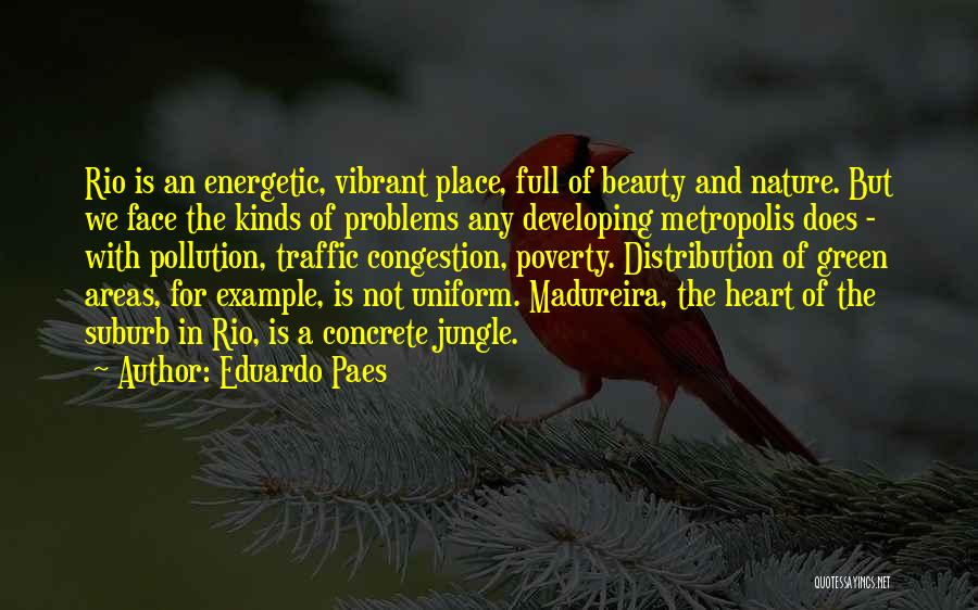 Beauty In The Heart Quotes By Eduardo Paes