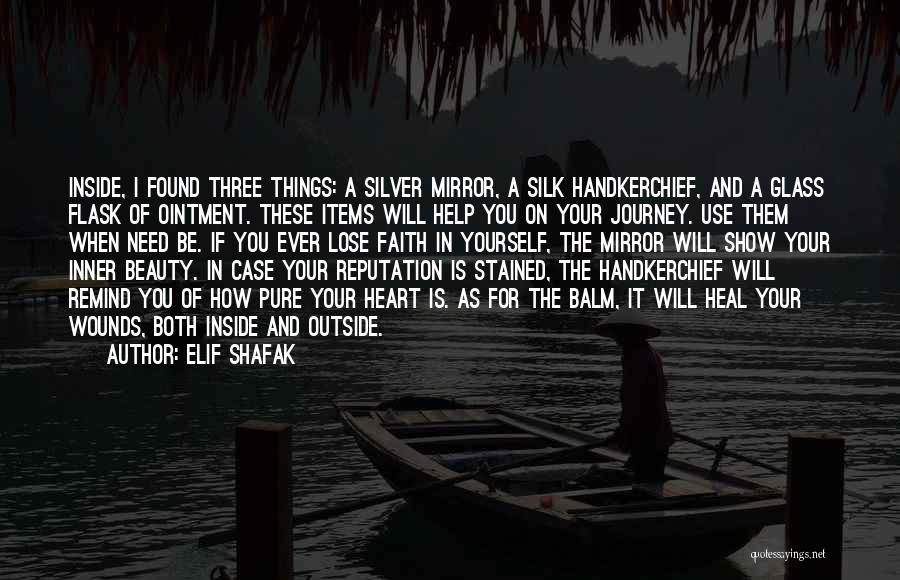 Beauty In The Heart Quotes By Elif Shafak