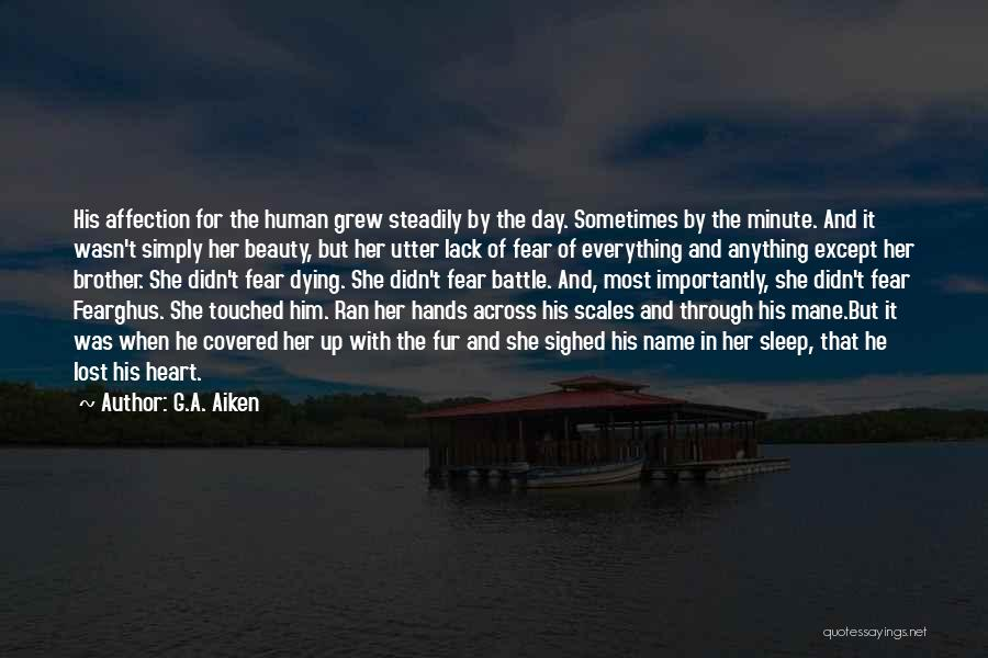 Beauty In The Heart Quotes By G.A. Aiken